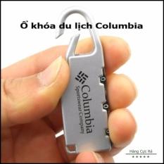 Ổ khóa mini Columbia tiện lợi dễ sử dụng và đổi được mật khẩu