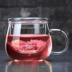 Ly pha trà ba mảnh ly pha trà văn phòng ly pha trà cá nhân