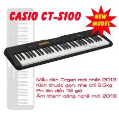 Đàn Organ Casio CT-S100 (CTS100) kèm Giá nhạc và Adaptor – Việt Hoàng Phong