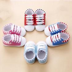 Giày tập đi chống trượt bằng da PU cho bé