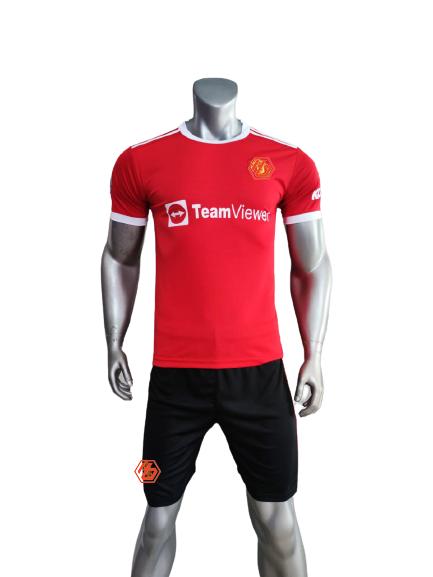 Quần áo MU sân nhà màu đỏ 2021-2022