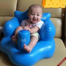 Ghế hơi tập ngồi cho bé có bơm hơi tự động