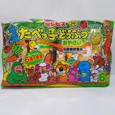 Bánh Ăn Dặm Ginbis Hình Thú 27gx6 Gói Nhật Bản