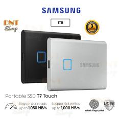 [HCM][Trả góp 0%]Ổ cứng di động SSD Portable Samsung T7 Touch 1TB – USB 3.2 Gen 2 (MU-PC1T0)