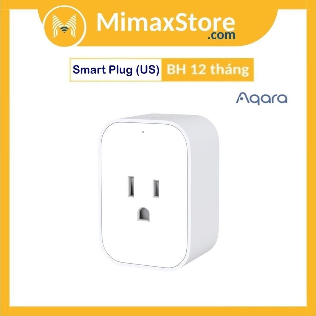 Ổ Cắm Điện Thông Minh Tiêu Chuẩn Mỹ Aqara Smart Plug (US) ZNCZ12LM | Hàng Chính Hãng | Bảo Hành 12 Tháng