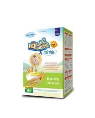 Bột ăn dặm IQ lac biotic tổ yến hương vị gạo sữa lúa mạch