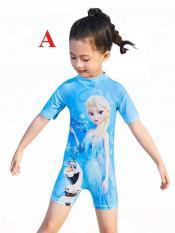 Đồ bơi bé gái liền hình công chúa hoạt hình xinh xinh cho bé thỏa sức tung tăng