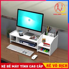 Kệ Để màn hình máy tính thiết kế tiện ích, gọn gàng, tăng cảm hứng làm việc, lắp ghép không cần dụng cụ