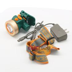 [ Hàng chất lượng ] Đèn pin đội đầu chống nước DP-LED, đèn đội đầu, đèn đeo đầu, đèn đeo trán, đèn soi ếch – Đức Hiếu Shop