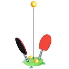 Bộ bóng bàn phản xạ vợt gỗ 3 bóng CuteKid