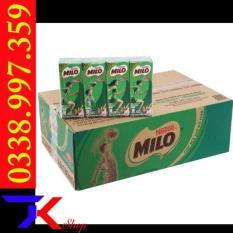 Thùng sữa Milo 180ml