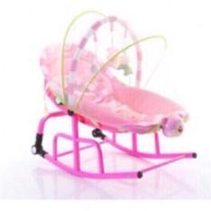 Ghế rung & nhạc cho trẻ sơ sinh tặng màn che muỗi