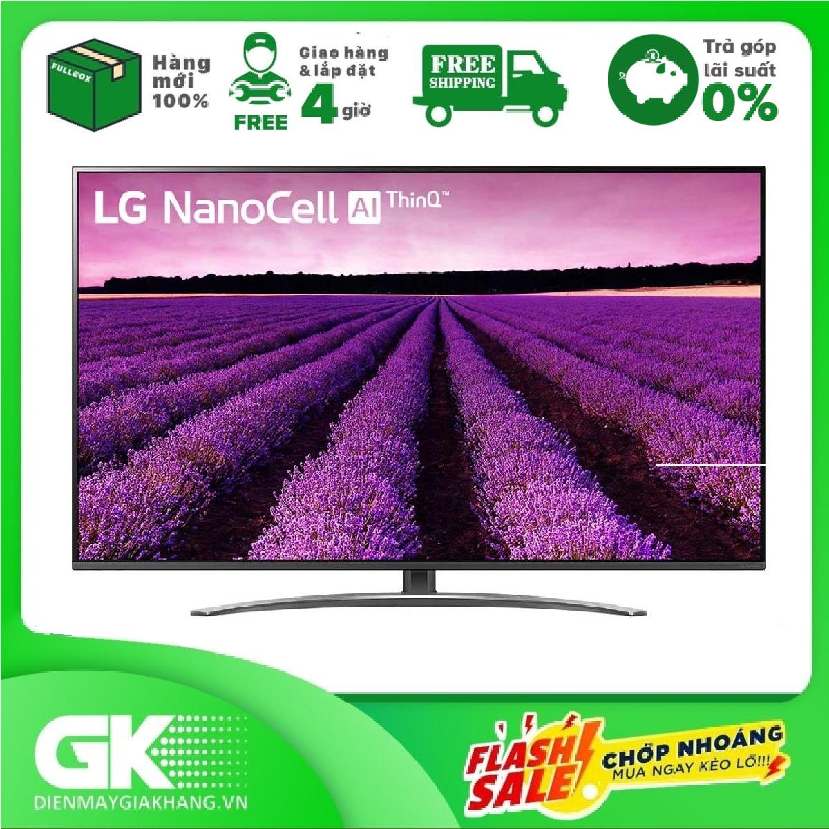 TRẢ GÓP 0% – Smart Tivi LG 4K 49 inch 49SM8100PTA – Hàng mới 100% – BTRẢo hành 2 năm