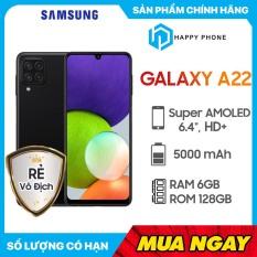 Điện thoại Samsung Galaxy A22 (6GB/128GB) – Hàng Chính Hãng, Mới 100%, Nguyên Seal | Bảo hành 12 tháng