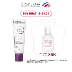 Kem dưỡng làm dịu và phục hồi nhanh da tổn thương Bioderma Cicabio Crème – 40ml