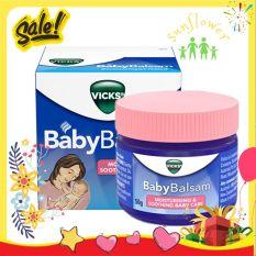 Dầu bôi ấm ngực giảm ho Vicks Baby Balsam – Úc