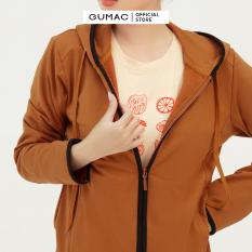 Áo khoác nữ phối viền hàng thiết kế thời trang GUMAC mẫu mới AB364