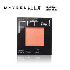 Phấn má hồng mịn lì chuẩn màu Maybelline Fit Me Blush 4.5g