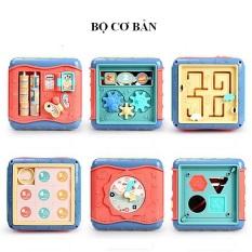 Trống đồ chơi đa năng hình khối phát ra âm thanh vui nhộn dành cho các bé