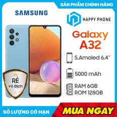 [Trả góp 0%] Điện thoại Samsung Galaxy A32 (6GB/128GB)- Hàng chính hãng mới 100% Nguyên Seal | Bảo hành 12 tháng