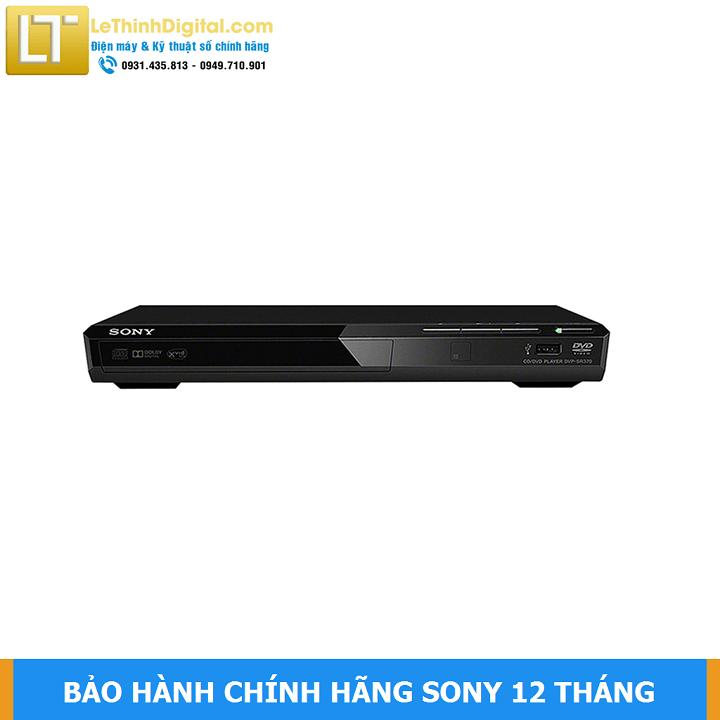 Đầu đĩa DVD Sony DVP-SR370 – Hãng phân phối