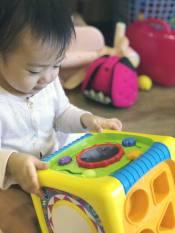 Hộp âm nhạc thả hình khối đa năng cho bé Winfun 0741