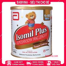 Sữa Bột Similac Isomil Plus 400g | Cho Trẻ Từ 1-10 Tuổi, Bất Dung Nạp, Dị Ứng Đạm Sữa Bò, Tiêu Chảy | Abbott Việt Nam | Babivina, Sữa Chính Hãng, Tổng Kho, Bán Lẻ Giá Sỉ