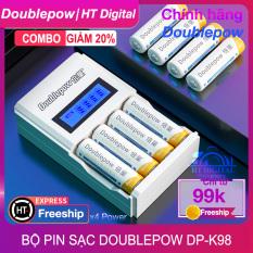 Bộ Sạc Pin DP-K98 Cao Cấp – Sạc Pin AA/AAA 2A 3A Dung Lượng Cao Cho Thiết Bị Điện Tử – Đồ Chơi Trẻ Em – Micro Karaoke – Pin Đồng Hồ Treo Tường