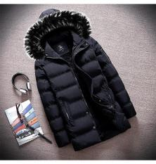Áo khoác nam lót lông dáng dài AP44