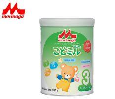 [số lượng có hạn] Sữa Morinaga Số 3 Kodomil Cho Bé Từ 3 Tuổi 850gr – Hương Vani Date T3.2022 ( tách đai Clearance )