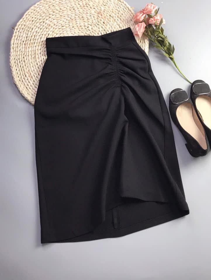 Chân váy nữ dài dây rút đẹp 2020