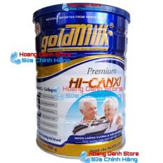 SỮA CHO NGƯỜI GIÀ NGĂN NGỪA LOÃNG XƯƠNG và TIỂU ĐƯỜNG – Sữa bột Goldmilk Hi-Canxi 900g – SỮA DÀNH CHO NGƯỜI GIÀ