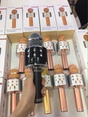 Micro karaoke bluetooth cao cấp WS-858 – Âm thanh cực đỉnh – Hàng hot