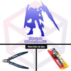 Mô Hình Gundam TT Hongli HG 00 Seven Sword/G [3GD]