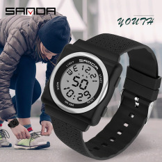 Đồng hồ Nữ Nam Unisex thể thao SANDA JASIEL JAPAN, Kiểu Dáng Apple Watch, Thương hiệu Nhật, Siêu Chống Nước – Đồng hồ nữ thời trang, Đồng hồ nữ giá rẻ, Đồng hồ nữ cao cấp, Đồng hồ nữ đẹp, Đồng hồ nữ hàn quốc