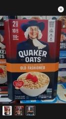 Dung test Yến mạch nguyên hạt Mỹ Quaker Oats Old Fashioned 4.52 kg