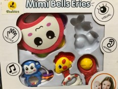 Hộp đồ chơi xúc xắc 4 món cho bé Toys House 776-B7 – Hàng chính hãng