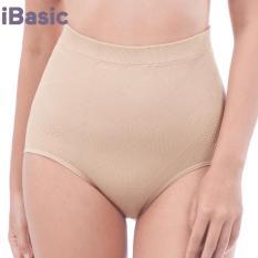 Quần gen bụng seamless lưng cao iBasic BO31 tặng túi bảo vệ môi trường