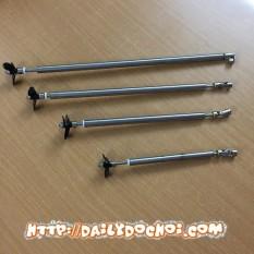 TCVCD1 trục chân vịt chuyển động lõi 4mm kèm chân vịt, chất lượng cao cấp ổn định, an toàn và dễ dàng lắp ráp, đảm bảo hàng đúng như mô tả