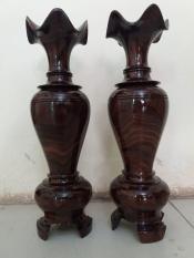 bình lọ gỗ chiu lưu kích thước cao 48cmx15cm