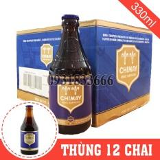 Bia Bỉ Chimay Xanh Thùng 12 Chai 330ml