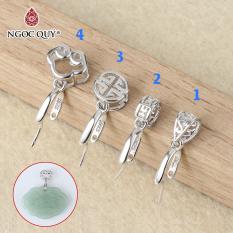Khoen bạc móc mặt dây chuyền phật, tỳ hưu, hồ ly – Ngọc Qúy Gemstones