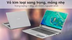 Acer Swift SF314 i3 8130U/Ram 4GB/HDD 1TB/14″F/Bạc-Protech Computer