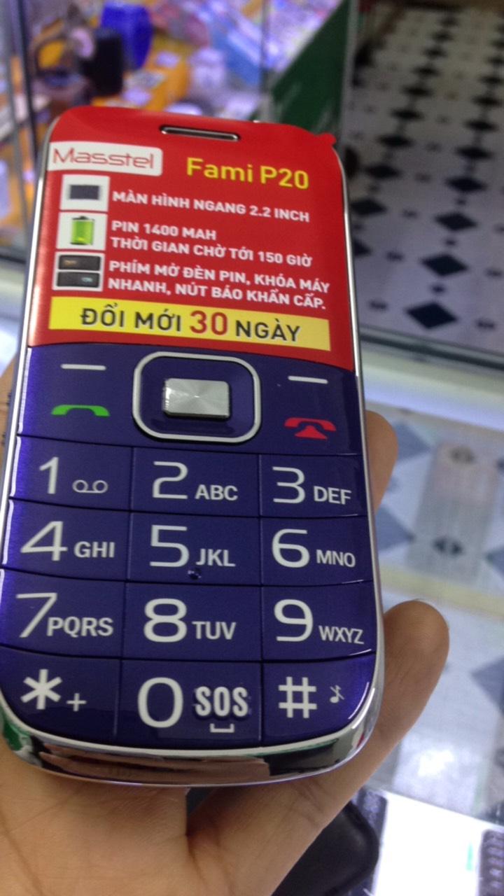 Điện thoại người già Masstel FAMI P20