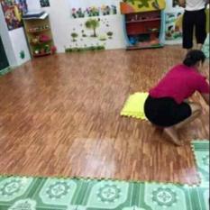 thảm lót sàn giả gỗ – thảm lót sàn vân gỗ