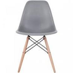 Ghế nhựa chân gỗ giá rẻ – Ghế Eames – Mk191