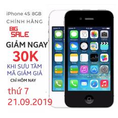 Điện thoại Apple iPhone 4s – 8GB – Bản quốc tế – Bảo hành 3 tháng – Đổi trả miễn phí tại nhà – Yên tâm mua sắm với Mr Cầu (Điện thoại giá rẻ, điện thoại smartphone)