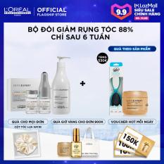 [Tặng Voucher 100k] Bộ gội và tinh chất Aminexil giúp ngừa rụng tóc 88% trong 6 tuần L'Oréal Professionnel