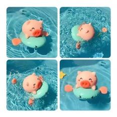 Đồ chơi nhà tắm – heo (lợn) chèo thuyền phun nước cực đáng yêu