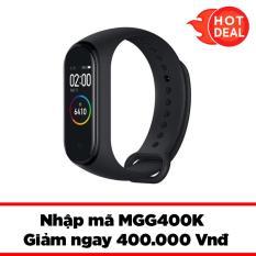 Vòng đeo tay thông minh Smartband M4 (Đen)